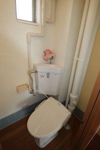 隅付きトイレ 団地リノベ